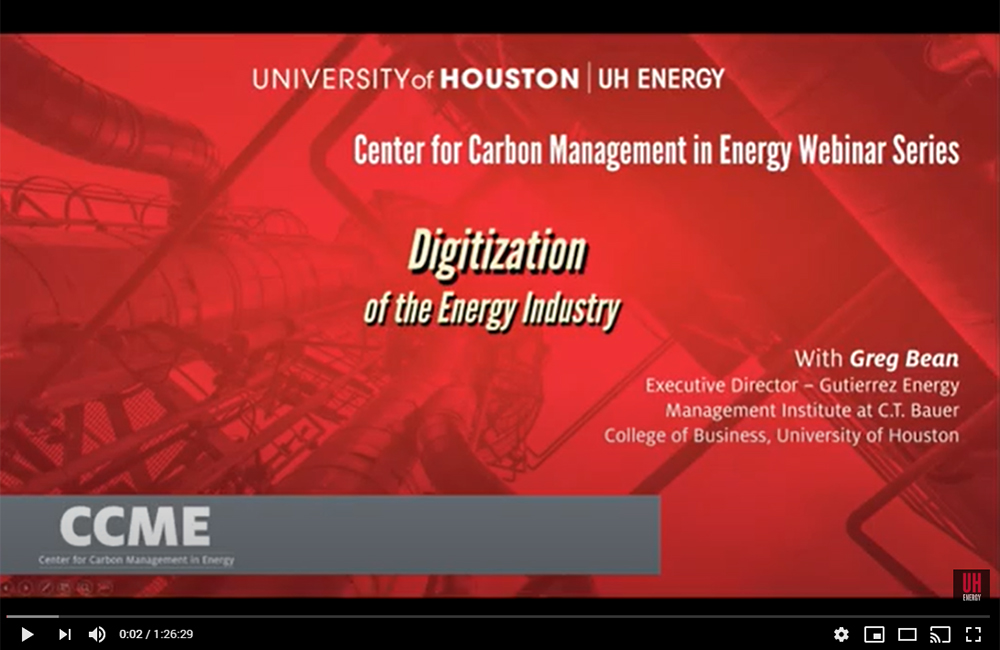 Digitization In the Energy Industry –The Table Stakes and Opportunities