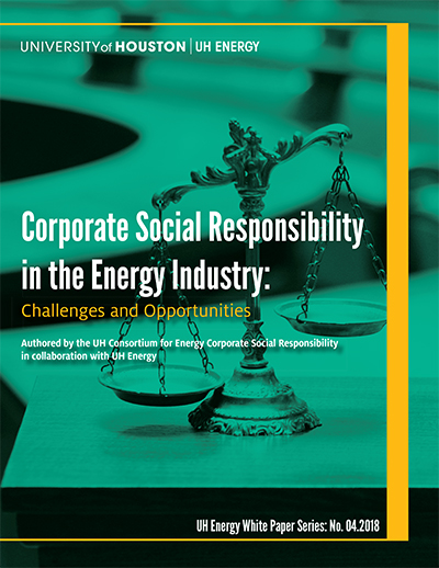 Corporate Social Responsibility in the Energy Industry: Challenges and Opportunities