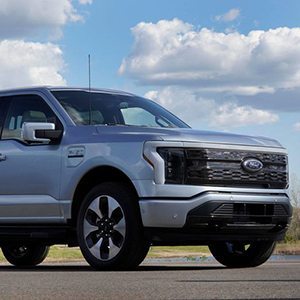 Image of Ford's new electric F-150 Truck