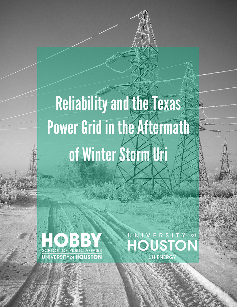 Reliability and the Texas Power Grid in the Aftermath of Winter Storm Uri Survey Cover Image
