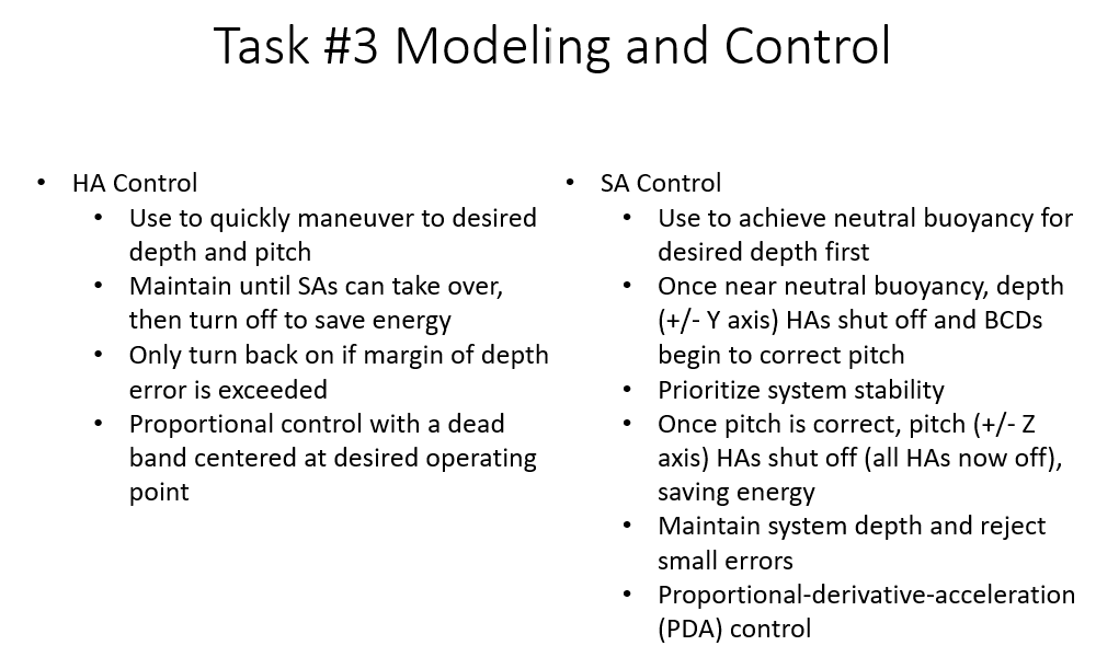 Descriptive image of Modeling and Control of AUV Video - Click here to view the image