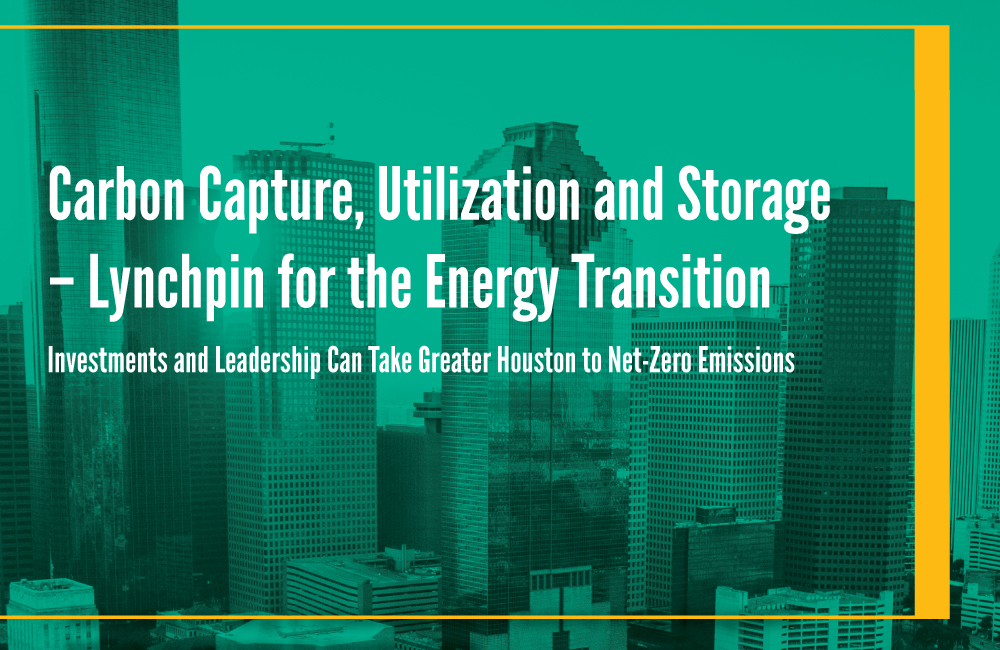 White Paper: Carbon Capture, Utilization and Storage - Lynchpin for the Energy Transition Image