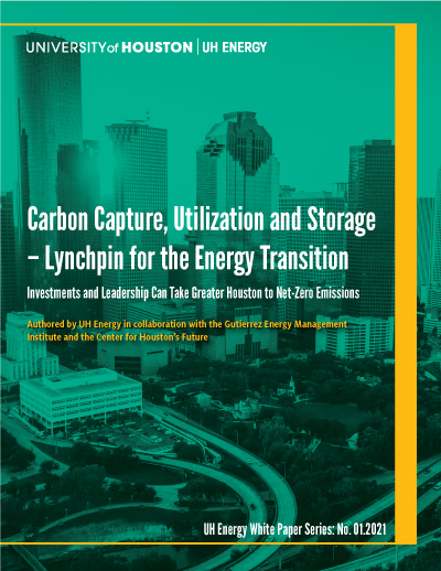 Carbon Capture, Utilization and Storage - Lynchpin for the Energy Transition