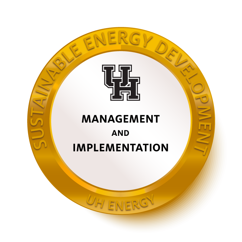 Management and Implementation Badge Image