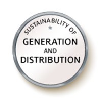Sustainability of Generation and Distribution Badge Image