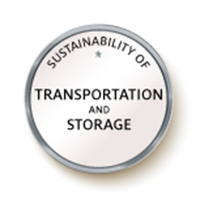 Sustainability of Transportation and Storage Badge Image
