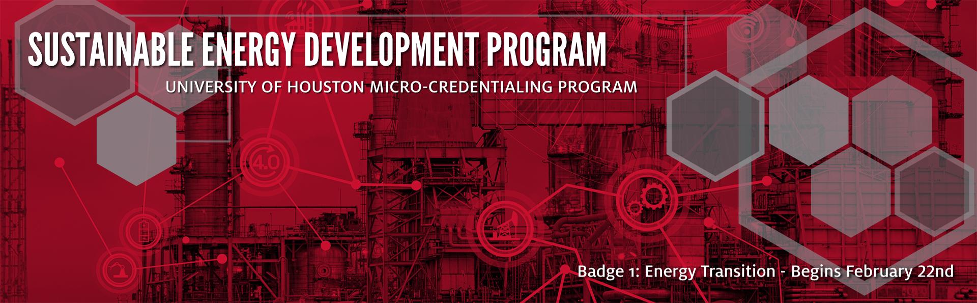 Sustainable Energy Development Program Banner