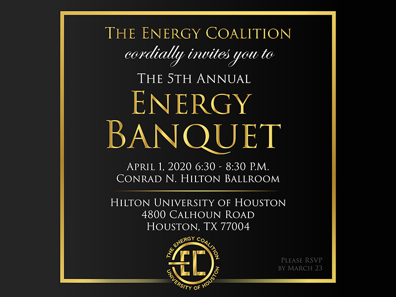 The 5th Annual Energy Banquet