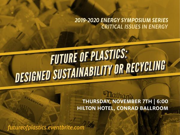 The Future of Plastics Symposium Banner Image