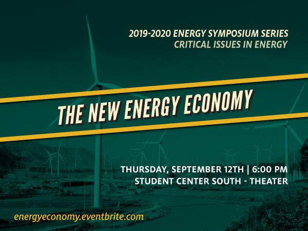 The New Energy Economy Symposium Banner Image