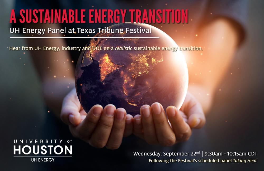 UH Enegy Panel at Texas Tribune Festival Article Image